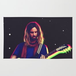 Kevin Parker from Tame Impala Rug