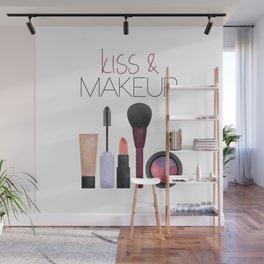 Kiss & Makeup Wall Mural
