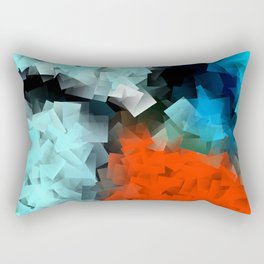 Resting place to find peace Rectangular Pillow