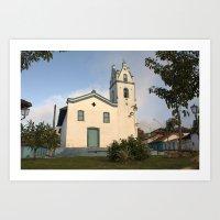 Small Church in Brazil Art Print