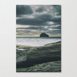 Really Rugged Coast Canvas Print