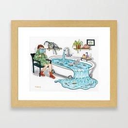 Sea Stories Framed Art Print