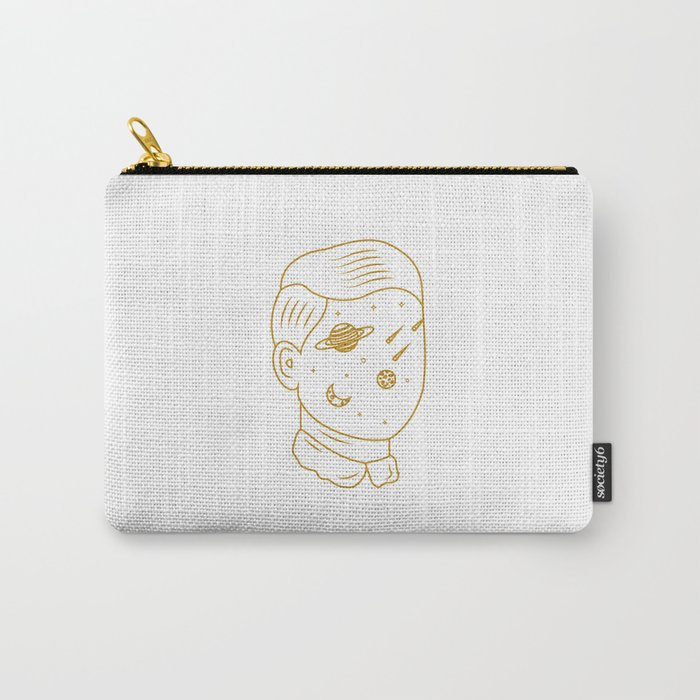Space head Carry-All Pouch