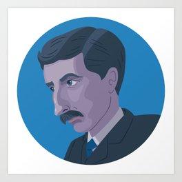 Queer Portrait - E. M. Forster Art Print