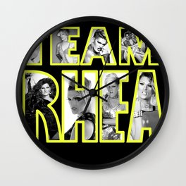TEAM RHEA Wall Clock