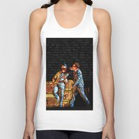 u2 Tank Tops featuring U2 / Bono / Edge / Until The End Of The World by JR van Kampen