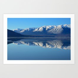 Turnagain Arm Mirror - Alaska Art Print