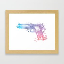 A Thing Of Beauty 2 Framed Art Print