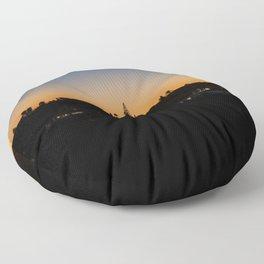 Sunset Portugal Floor Pillow