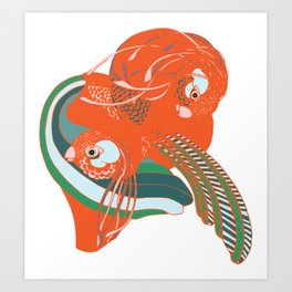 Imaginary Birds Art Print