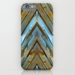 Knotty Plank Texture iPhone Case