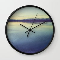 serenity Wall Clocks featuring Serenity by Jessica Torres Photography
