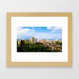 View Cali Valle del Cauca. Framed Art Print