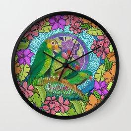 vitality tweet Wall Clock