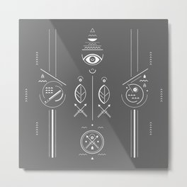 Mystical signs  Metal Print