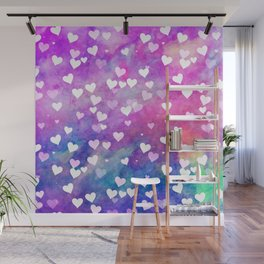Hearty Watercolor Wall Mural
