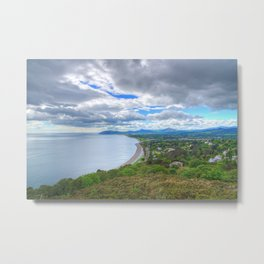Killiney Hill in Dublin, Ireland Metal Print