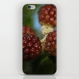 Wild berries #3 iPhone Skin