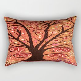 Abstratc tree 5 Rectangular Pillow