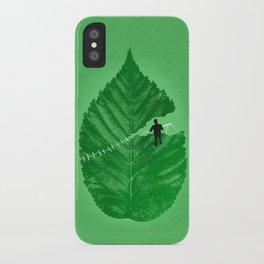 Loose Leaf iPhone Case