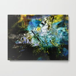 The birth of the butterfly Metal Print