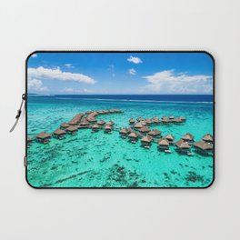 Tahiti paradise honeymoon vacation destination Laptop Sleeve