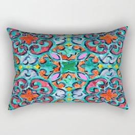 Moroccan Mandala Tile 01 Rectangular Pillow
