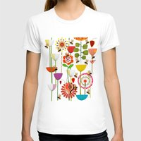 bees T-shirts featuring WHERE THE BEES FLY by Chicca Besso