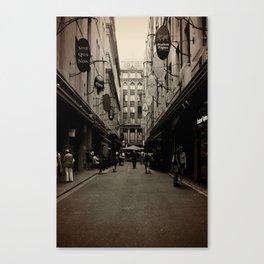 Degraves Street Canvas Print