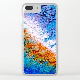 """""""Galaxy"""" – Oil Painting Clear iPhone Case"""