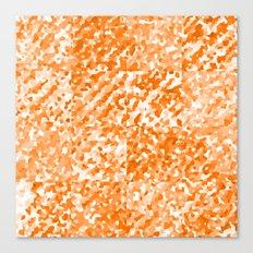 Orange Delight (Squares) Canvas Print