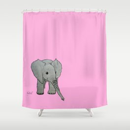 Emma Sweet Pea Shower Curtain