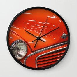 Vintage Red Van Wall Clock