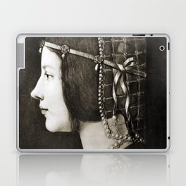 Bianca Sforza by Leonardo da Vinci Laptop & iPad Skin