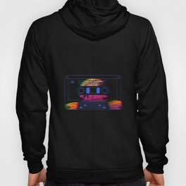 Cassette Tape with Palm Trees and Sea Aesthetic Hoody