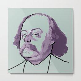 Gustave Flaubert Metal Print