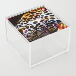 dot glitch Acrylic Box