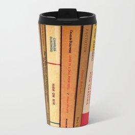 bukowski Metal Travel Mug