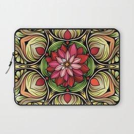 Ornamented Flowers Laptop Sleeve