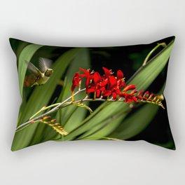 Rufous Hummingbird 2 Rectangular Pillow