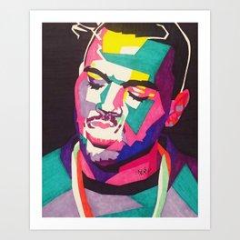 ChrisBrown Art Print