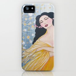 Swan Dance iPhone Case
