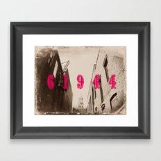 Paris, IL Framed Art Print