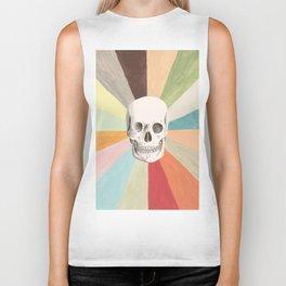 Skull is Cool Biker Tank
