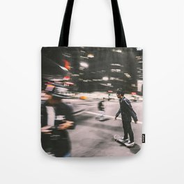 Skate in street 4 Tote Bag