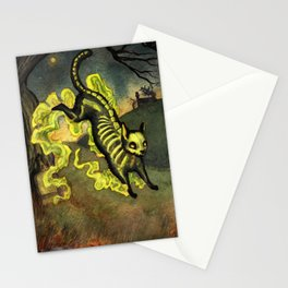 Ghostly Mouser Stationery Cards