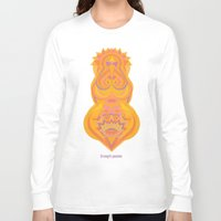chakra Long Sleeve T-shirts featuring Swadhisthana Chakra by anabra