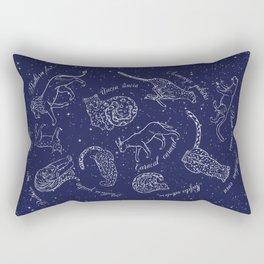 Big Cats Constellations Rectangular Pillow