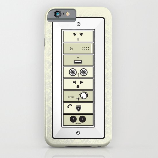 Mysterious Plugs iPhone & iPod Case