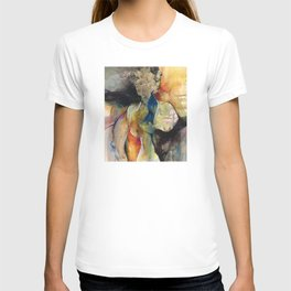 Her Blue Bird by Kathy Morton Stanion T-shirt